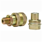 "BVA CH38 3/8"" NPTF High Flow Coupler"