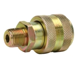 "BVA CH38F 3/8"" NPTF High Flow Coupler, Female"