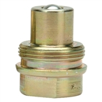 "BVA CH38M 3/8"" NPTF High Flow Coupler, Male"