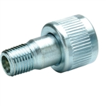 "BVA CRZ14F 1/4"" NPTF Regular Flow Zinc Plated Coupler, Female"