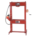 "BVA IAP2506 25 Ton 6"" H-Frame Press with PA1500 Air Pump"