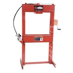 "BVA IMP2506 25 Ton 6"" H-Frame Press with P1000 Hand Pump"