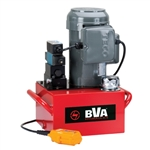 BVA PESL1503T 1.5 HP with 5 Gallon Reservoir, 4-way Valve, Pendant Switch. Teco Motor