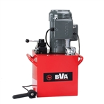 BVA PEW1505T 1.5 HP with 5 Gallon Reservoir, 4-way Valve, Pendant Switch. Teco Motor