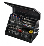"Montezuma SM200B 22 1/2"" x 13"" Portable Toolbox (steel - black)"