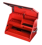 "Montezuma SM200R 22 1/2"" x 13"" Portable Toolbox (steel - red)"