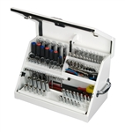 "Montezuma SM200W 22 1/2"" x 13"" Portable Toolbox (steel - white)"