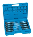 Grey Pneumatic TPX18 18 Pc. Tamper-Proof Star Screwdriver & Key Set