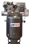 TWI Proline TWI-10120V3 10 HP 120 Gallon Vertical 2 Stage, 230V/1 Phase Compressor-Lincoln Motor