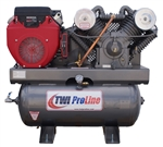 TWI Proline TWI-2030HG 630cc/20.3 HP Two Stage, 30 Gallon Gas Powered Compressor-Stationary Mount