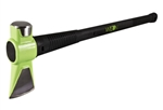 Splitting Maul, Hi-Viz Green, 6 lb, 31 in L