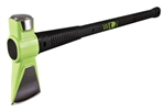 Splitting Maul, Hi-Viz Green, 8 lb, 31 In L