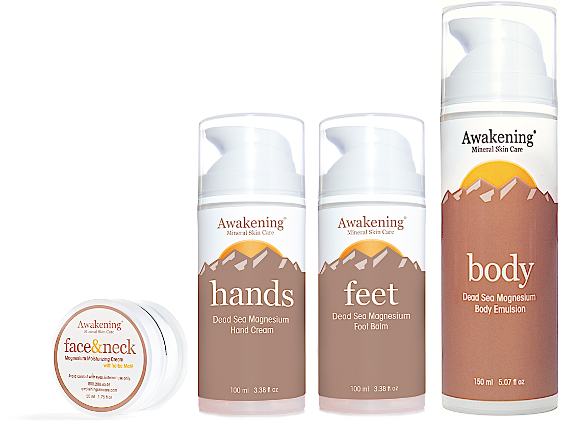 GRAND SLAM!  FACE&Neck, FEET (with EXTRA Arnica), HANDS & BODY