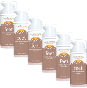 100ml/3.4oz FEET (with EXTRA Arnica) 6-PACK