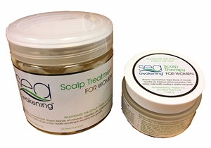 SCALP TREATMENT SET FOR WOMEN (& MEN) 453gr/16oz + 50ml/1.75oz Jar Set