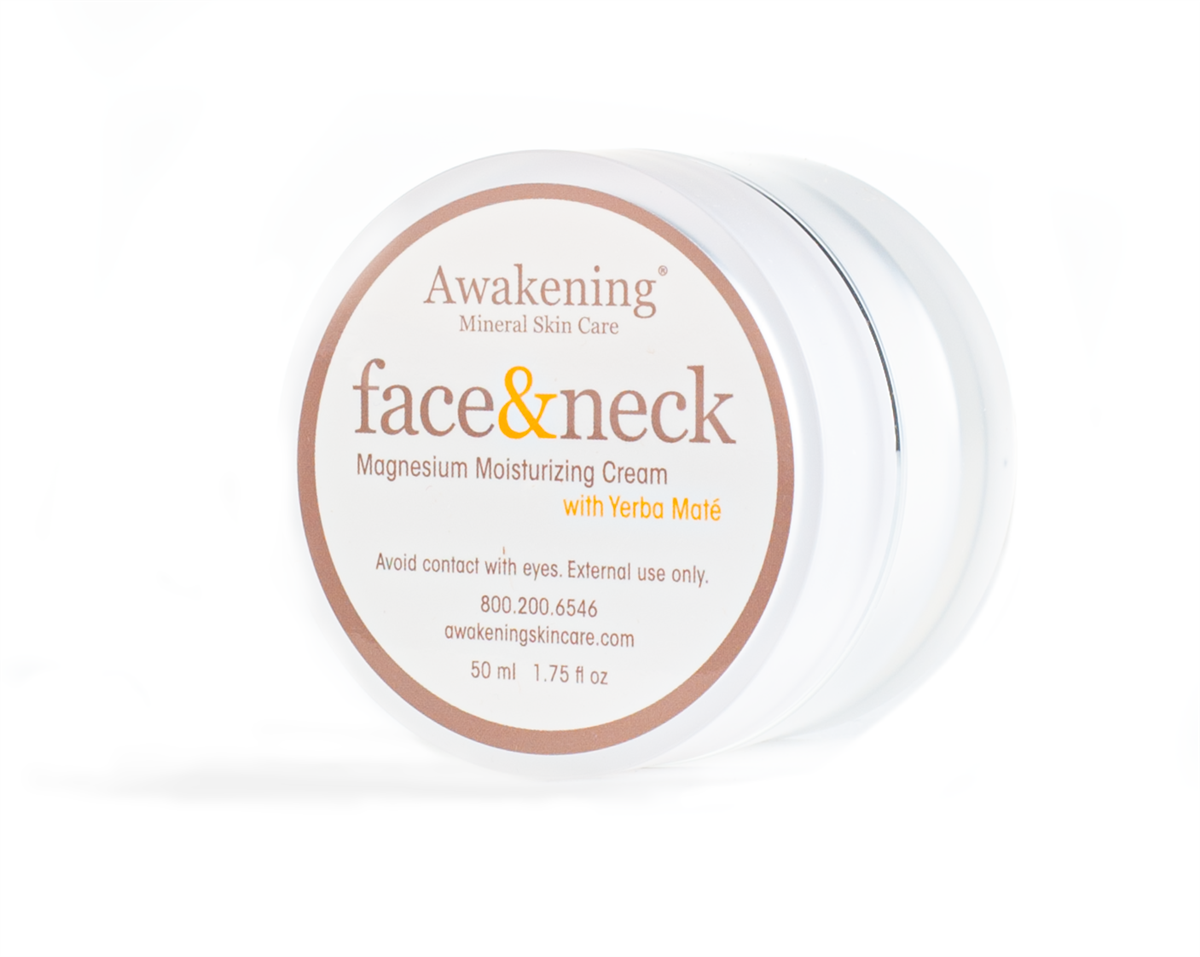 FACE & NECK Drenching Magnesium-rich Moisturizing Antioxidant Therapy Cream 1.75oz/50ml