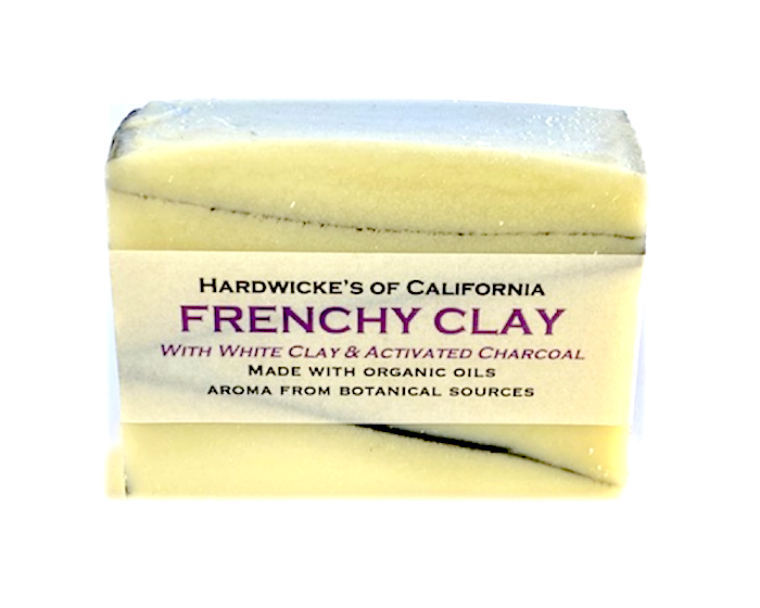 """Frenchy Clay"" HANDCRAFTED VEGAN SOAP"