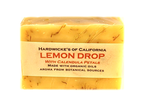 """Lemon Drop"" HANDCRAFTED VEGAN SOAP"