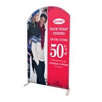"58"" Curved Modular Display Replacement Print Only"
