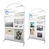 "58"" Curved Modular Display Double Sided Replacement Print Only"