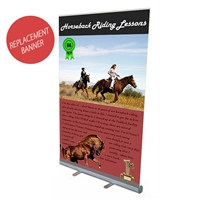 "Banner for PDE02 47"" x 78"" Replacement Graphic"