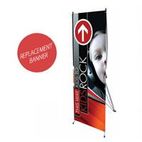 "Banner for PDE07 24"" x 63"" Replacement Graphic"