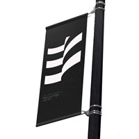 "Replacement Street Pole/ Wall Mount Banner 18"" with 18"" x 36"""