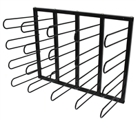 Vinyl Roll Wall Mount Storage Rack -20 Rolls