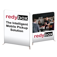 "78"" Angular Modular Display Double Sided Print"