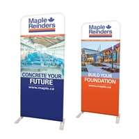 "38"" Straight Modular Display Double Sided Print"