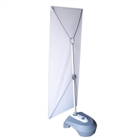 Outdoor X Banner Stand Water Base - Stand Only