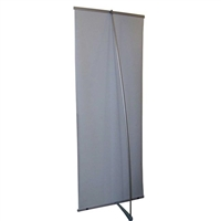 "L Banner Stand 33"" - Stand Only"