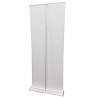 "HD Retractable Banner Stand 24"" - Stand Only"