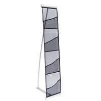 4-Pocket Mesh Portable Literature Stand for Trade Shows