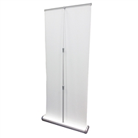 "Premium Retractable Roll Up Banner Stand 33"" - Stand Only"