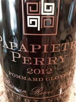 2012 Papapietro Perry 'Pommard Clones' Russian River Pinot Noir 750ml