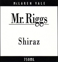 2004 Mr. Riggs McLaren Vale Shiraz, Australia 750 ml
