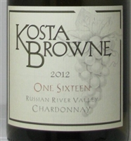 2012 Kosta Browne One Sixteen  Russian River Valley Chardonnay  .375 ml