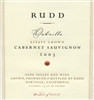 2003 Rudd Oakville Estate Cabernet 750ml