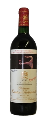 1990 Chateau Mouton Rothschild Bordeaux Red Blend from Pauillac 750 ml