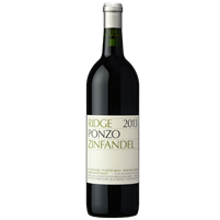 2013 Ridge Ponzo Zinfandel, Russian River Valley 750 ml