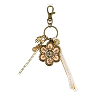 Flower Key Ring by Ester Shahaf