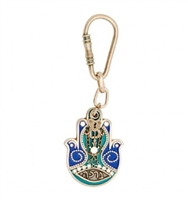Blessing Hamsa Key Ring by Ester Shahaf