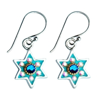 Star of David Earrings by Ester Shahaf