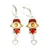 Oriental Hamsa Earrings - by Ester Shahaf