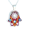 Small Hamsa Necklace by Ester Shahaf