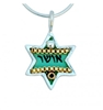 Happiness Star of David Necklace by Ester Shahaf