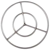 Stainless Steel Double Fire Pit Ring