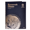 Whitman Folder #9034 - Roosevelt Dime 1965-2004 #2