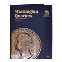 Whitman Folder #9038 - Washington Quarters 1988-1998 #4